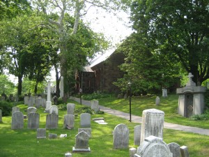 Churchyard of the Church of St. Andrew, Staten Island.
